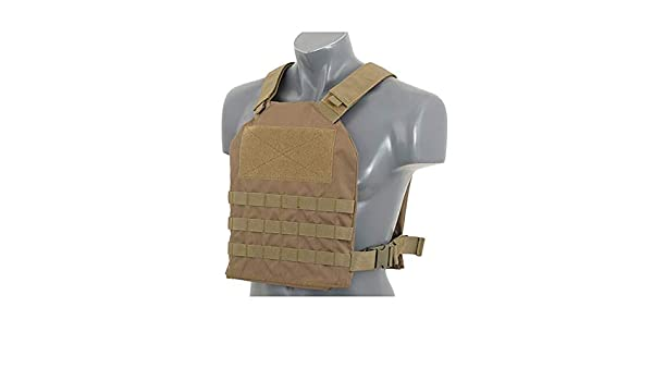 Dummy Soft Armor Inserts Tactical Molle Vest Kampfweste 8FIELDS Simple Plate Carrier