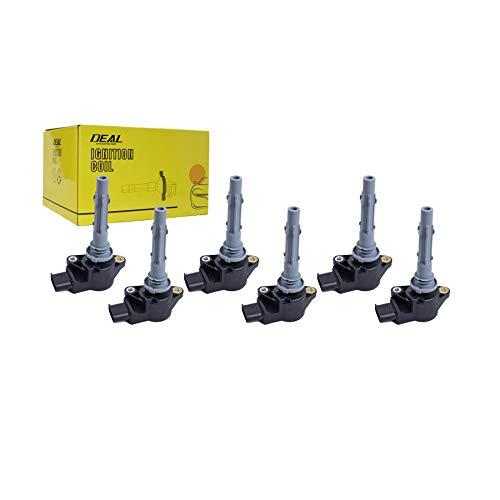 DEAL Set of 6 New Ignition Coil on Plug Pack Fit 06-15 Mercedes Benz / 07-08 Dodge Freightliner UF535