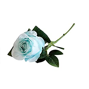 Xiarookp Mini Artificial Flowers Silk Fake Flowers Roses Floral Bouquet for Wedding Bridal Home Decor 57