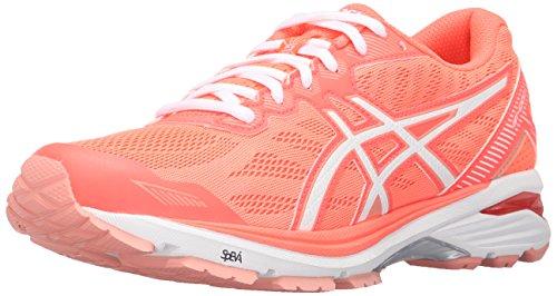 Melba Peach White de nbsp;5 Flash la GT Coral mujer nbsp;Zapatilla de Asics Running 1000 qZO47xFw