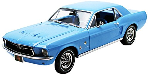 1/18 1867 Ford Mustang Coupe `Lone Star Limited Edition` Bluebonnet Special 12893
