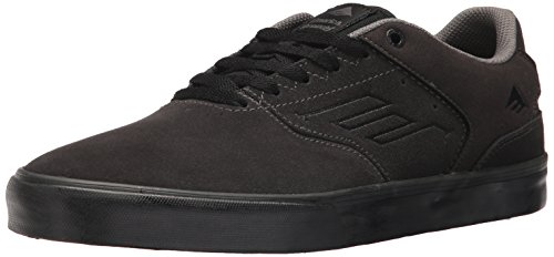 Emerica - The Reynolds Low Vulc, Scarpe da Skateboard da Uomo DARK GREY/BLACK