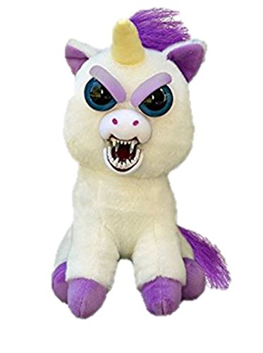 Feisty Pets Glenda Glitterpoop the Unicorn that Turns Feisty with a Squeeze 5