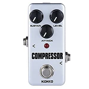 ammoon kokko fcp2 mini compressor pedal portable guitar effect pedal musical. Black Bedroom Furniture Sets. Home Design Ideas