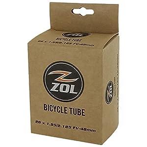 """Zol Mountain Bike Bicycle Inner Tube 26"""" x1.95/2.125 PRESTA Valve 48mm"""