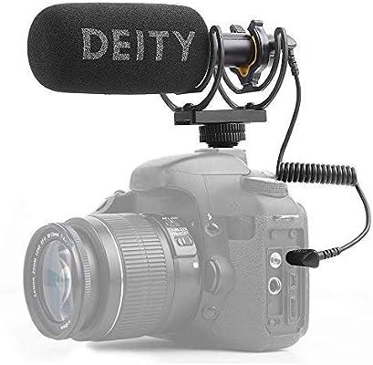 Deity V-Mic D3 Video Mic Micrófono con con Pergear Deadcat ...