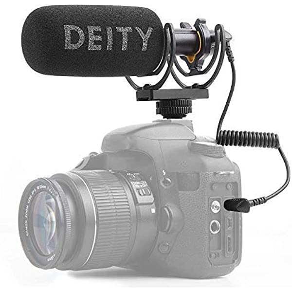 Deity V-Mic D3 Pro Micrófono de Escopeta direccional súper ...