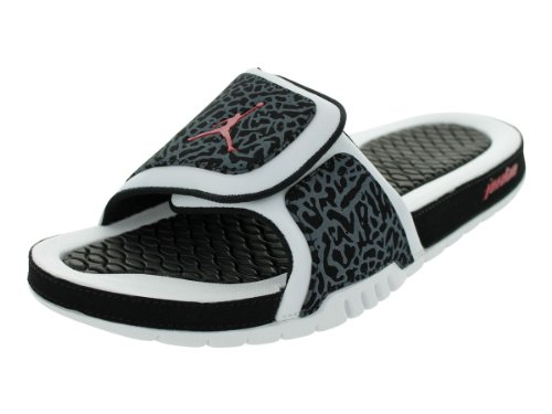39aa9a734be24 Nike Jordan Hydro 2 Men Sandals Color  White Black Gym Red 312527-124 (SIZE   13) - Buy Online in Oman.