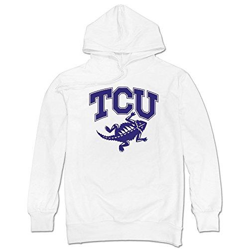 LAVIV Men's TCU Horned Frogs Sweatshirts - Mom Super Soccer Sweatshirt