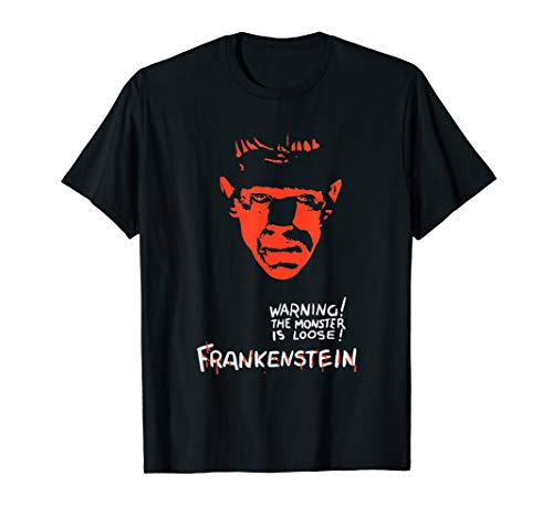 Frankenstein Vintage T Shirt, Original Design ()