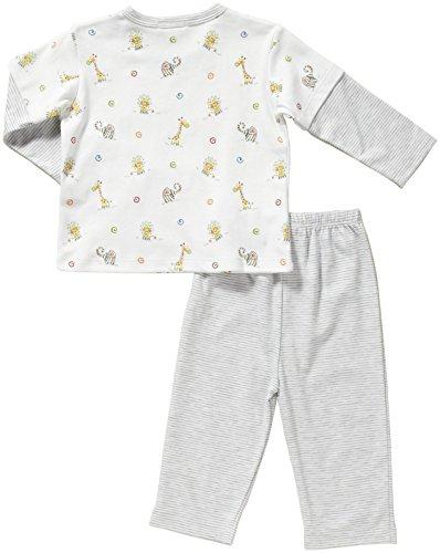 "Kissy Kissy ""Jungle Mates"" Pant Set (Baby) - Gray Multicolor-6-9 Months"