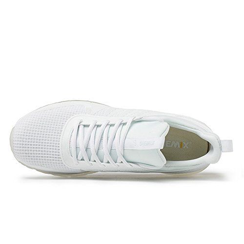 una hombre Zapatillas en Air de OneMix alto diseño blanco running Cushion de de color pieza Trainers para qSHqXzxwI