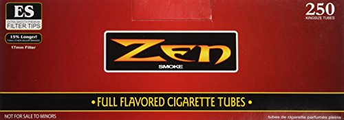 ZEN King Size Full Flavor Cigarette Tubes - 10 - Flavor Full Cigarette