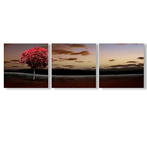 Abstract Cloud Tree Pictures Home Wall s for Bedroom Living Room Oil Paintings Framed x3 Panels