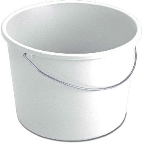 Sterilite 5Qt Wht Handy Pail 11670024 Pails Utility Plastic