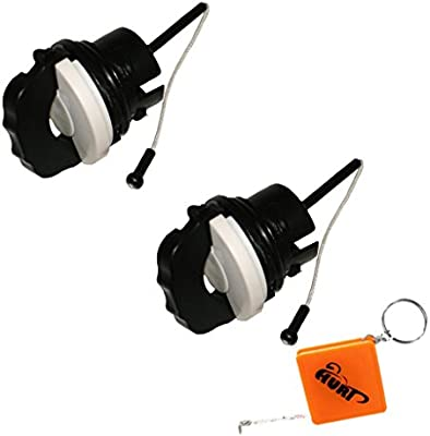 Huri 2pcs Gas Combustible Gasolina Tapa Fit Para Stihl BR500 FC90 ...