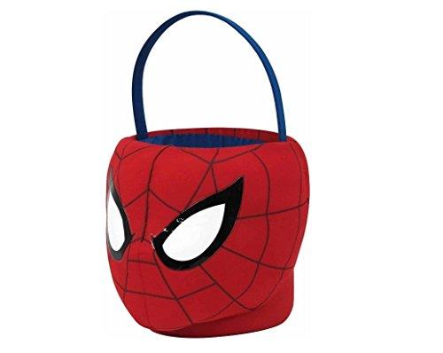 12 Inch Marvel Ultimate Spider-Man Plush Basket