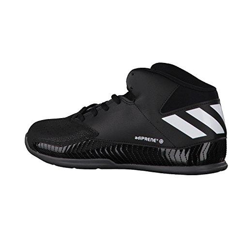 Adidas Nxt Lvl Spd V, Chaussures de Basketball Homme, Noir (Negbas/Ftwbla/Grpudg), 45 1/3 EU (10.5 UK)