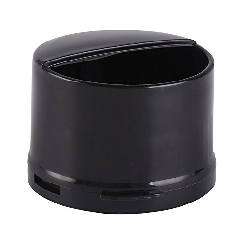 Whirlpool Water Filter Cap for Refrigerators Fits Most Whirlpool and Kenmore Side by Side Refrigerators 4396841,469020W10121145 (Black) (Size 1)