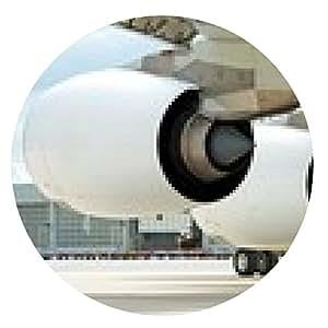 alfombrilla de ratón motor del A380 - ronda - 20cm