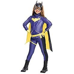 Rubie's Costume Girls DC Comics Premium Batgirl Costume, Medium, Multicolor, 640005
