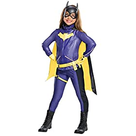 Rubie's Costume Girls DC Comics Premium Batgirl Costume, Medium, Multicolor, 640005
