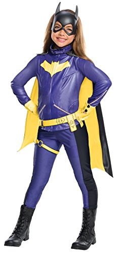 Games Batgirl - Rubie's Costume Girls DC Comics Premium Batgirl Costume, Medium, Multicolor