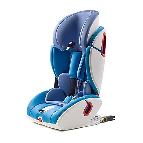 Zedelmaier Kinderautositz M2-Fix Mit ISOFIX 9-36 kg Auto Kindersitz fü r Kinder von 1-12 Jahre, Gruppe 1/2/3, ECE R44/04 (Blau)