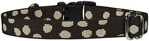 Waggo Speck-tacular Collar - Charcoal - Medium - 15-22 inch x 3/4 inch