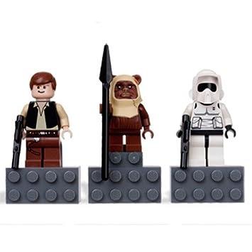 Worksheet. LEGO Star Wars  3 Figuren Han Solo  Ewok Paploo  Scout Trooper