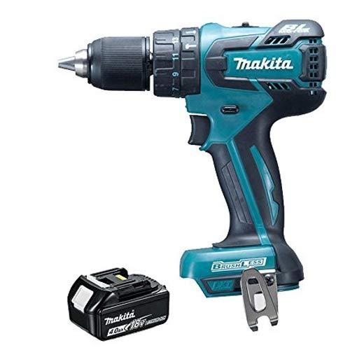 Makita DHP459Z 18V LXT Brushless Cordless Combi Drill with 1 x 4.0Ah BL1840 Battery, 18 V DHP459Z + BL1840