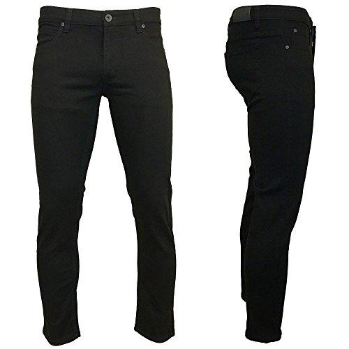 Kayden K Skinny Twill Denim Jeans Black 32W - In K Men Black