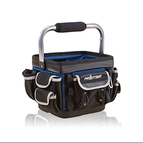 Frontier Tool Bags Portable Tool Organizers - Oxford 1680D Fabric Tool bags, Travel Luggage Hand Bags, Storages for tools, qualified (9'' square bag) by Frontier