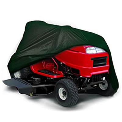"CarsCover Lawn Mower Garden Tractor Cover Fits Decks up to 54"" - Olive Green"