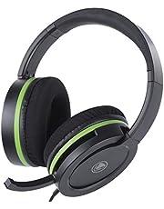 snakebyte Xbox One HEADSET X PRO - XBOX One / XBOX One X için mikrofonlu stereo oyun kulaklığı, 3,5 mm ses fişi, PC, PS4, VOIP, telefon konferansları, VideoCall, Skype, Zoom, vb. ile uyumlu
