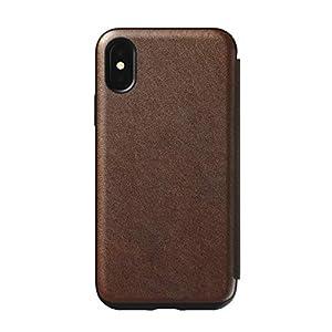 Nomad Folio Tri-Fold Leather Case iPhone X | Rustic Brown