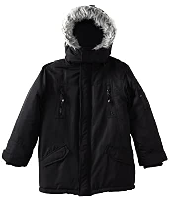 Timberland Big Boys' Snorkle Jacket, Black, Medium