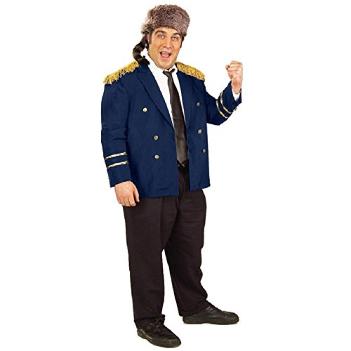 Ralph Kramden Raccoon Lodge Member The Honeymooners Adult Costume-Adult XL (Plus -