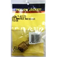 Yellow Jacket 41121 1/2 Manifold Particulate Filter