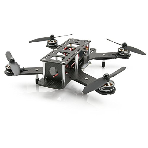 Lumenier QAV250-RTF-CF Mini FPV Quadcopter RTF, Carbon Fiber Edition