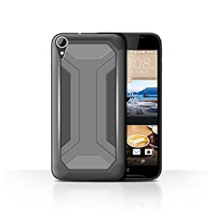 STUFF4 Phone Case / Cover for HTC Desire 830 / Bracket Design / Armour/Armor Collection
