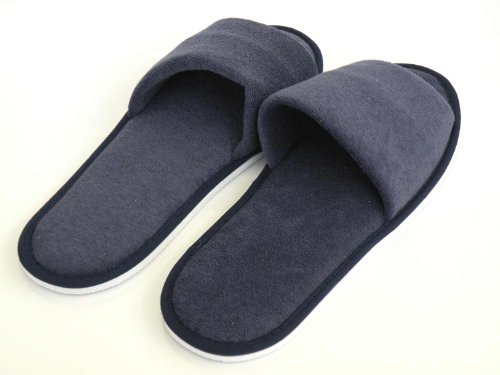 c09bb192b38c Spa   Indoor Slipper-Blue Terry Cloth