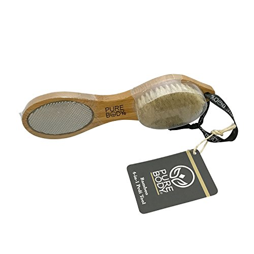 Pure Body Bamboo 4-in-1 Pedicure Tool