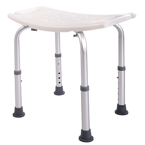 JAXPETY 6 Height Adjustable Bath and Shower Seat Top Rated Shower Bench by JAXPETY (Image #3)