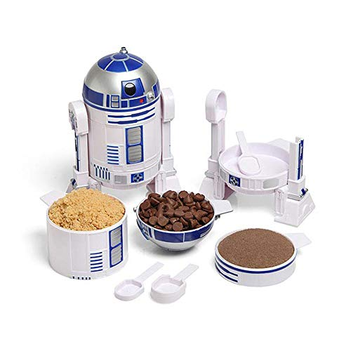 ThinkGeek Star Wars R2-D2 Measuring Cup Set - Body Built...