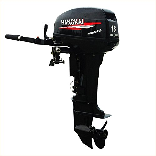 SEA DOG WATER SPORTS Outboard Motor 2 Stroke Inflatable Fishing Boat Engine(18 - 15 Boat Hp Motor