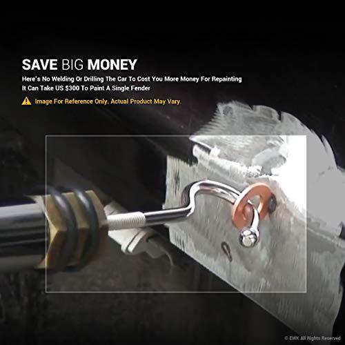 EWK Pneumatic Slide Hammer Dent Puller Air Suction Cup Paintless Dent Repair Remover by EWK (Image #4)