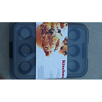 KitchenAid Classic Nonstick 12-Cavity Muffin Pan with Carrying Lid