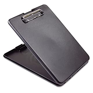 Saunders SlimMate Plastic Storage Clipboard, 00558, Letter Size, Black (558) (B010CED0OG) | Amazon price tracker / tracking, Amazon price history charts, Amazon price watches, Amazon price drop alerts