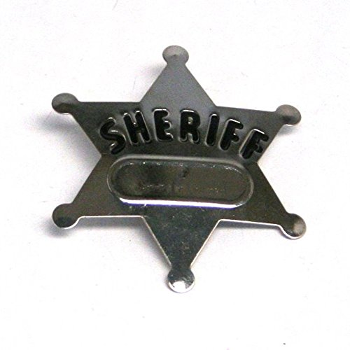 Metal Sheriff Badges: package of 12